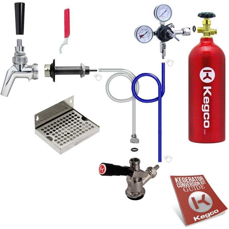Features Kegco 762 Commercial Grade Double Gauge Regulator