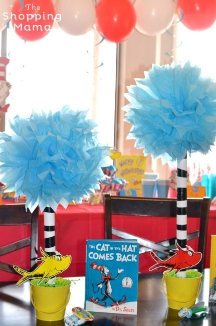 The Best Dr Seuss Party Centerpieces Birthdays and Babies