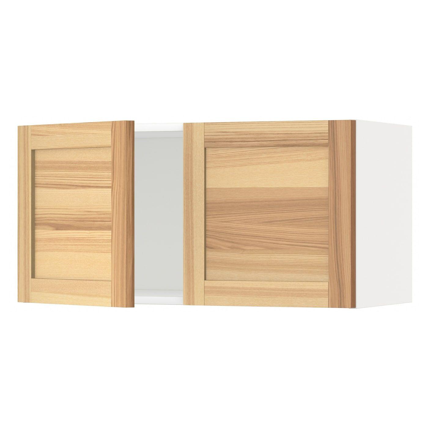 METOD weiß Wandschrank mit 2 Türen Frame colour: weiß