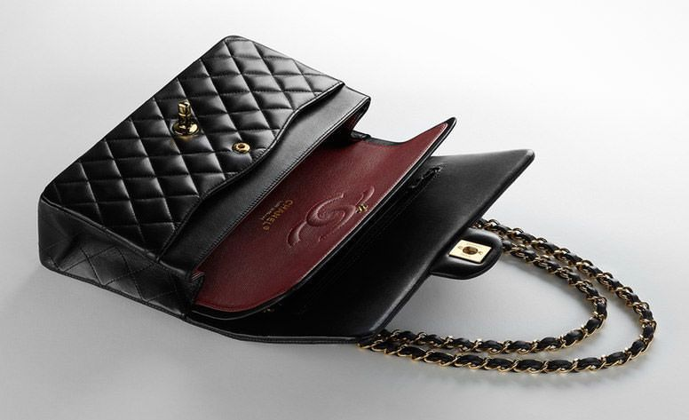 627ed74a6b Check out prices, sizes, size comparisons and colors for the Chanel Classic  Flap Bag.
