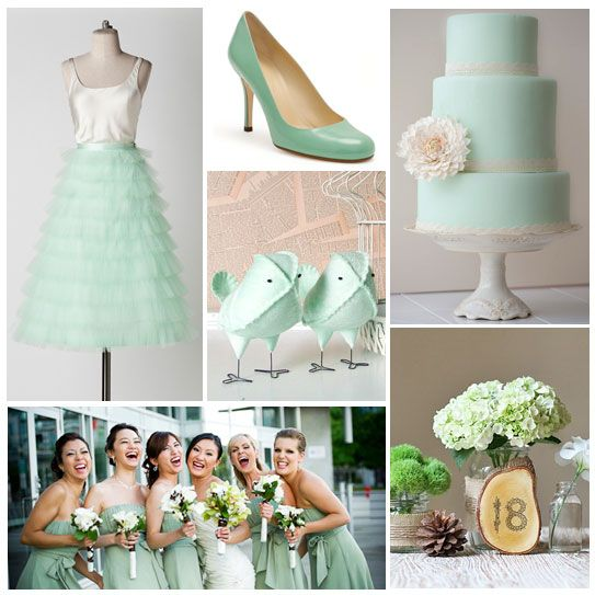 Summer wedding colour palettes summer wedding colors summer eat drink and be married mint green junglespirit Images