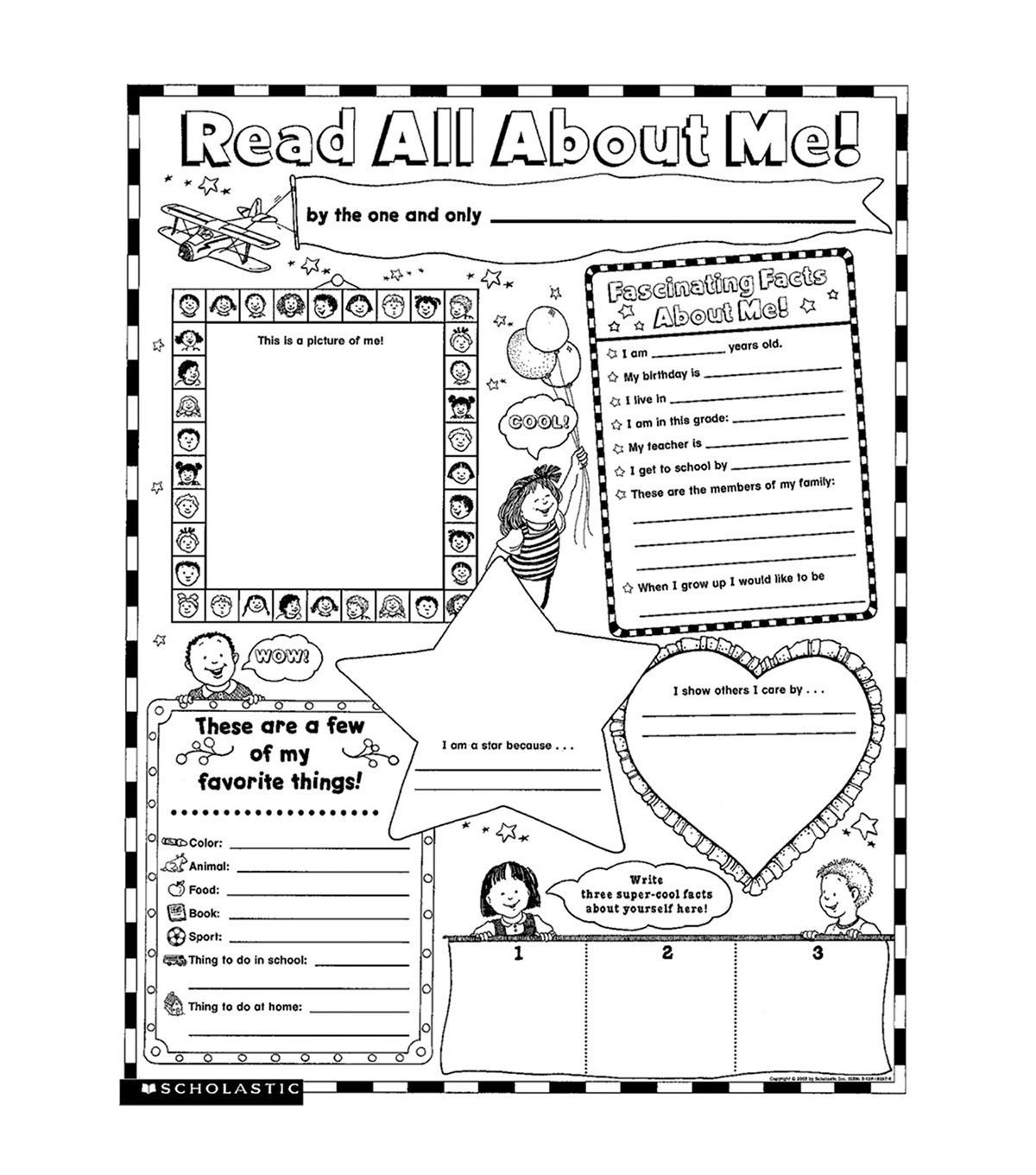 Scholastic Teaching Resources Personal Poster Sets Read