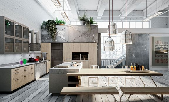 Loft Style Kitchens Are The Next Best Thing In Modern Interior Design! A  Triumph