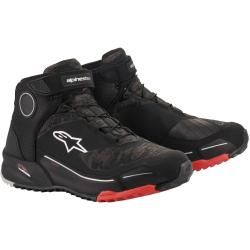 Photo of Alpinestars Cr-x Drystar Motorcycle Shoes Green Brown 39 Alpinestars
