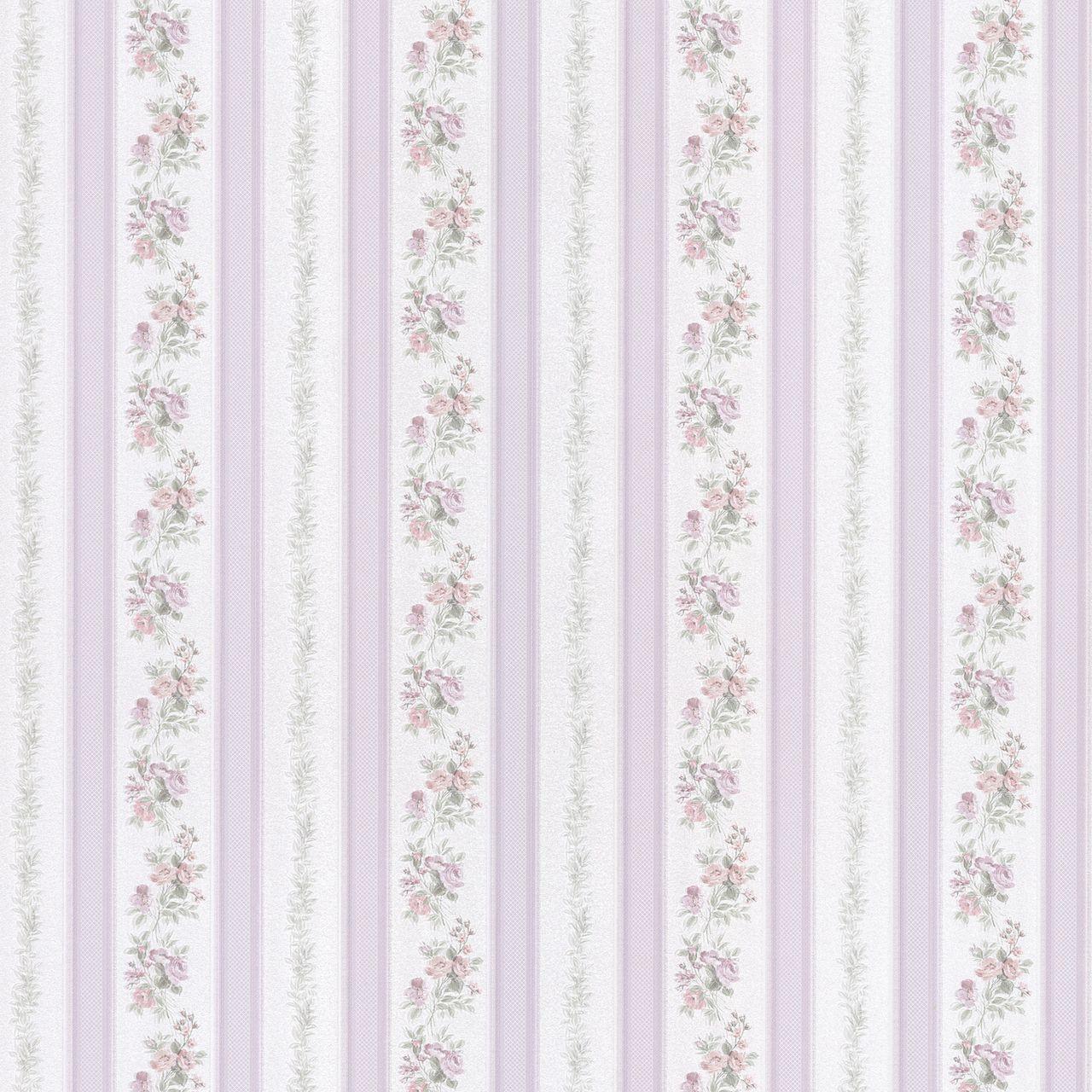 Interior Place - Merle Lavender Floral Stripe 2532-56030 Wallpaper, 41.60 CAD (http://www.interiorplace.com/merle-lavender-floral-stripe-2532-56030-wallpaper/)