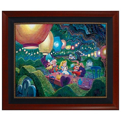 Mad Hatter Tea Party Limited-Edition Giclée  $1,199.50