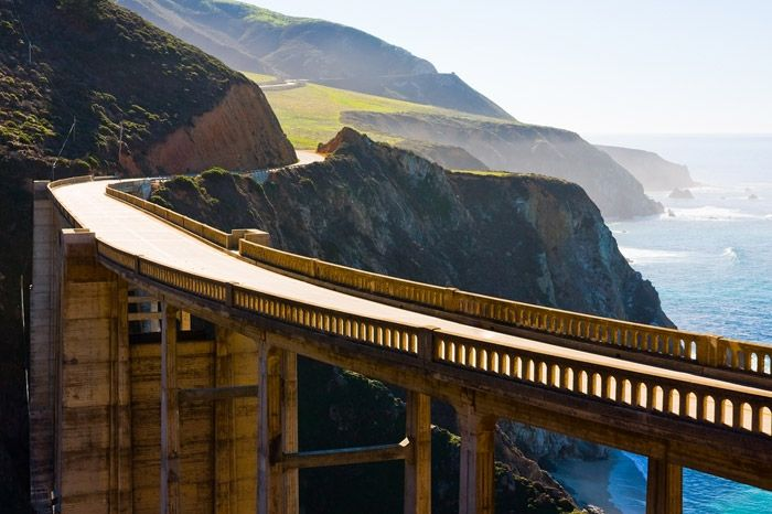 Top 10 Romantic Driveways In United States. Big Sur Coast Highway, California #vacationhomesnet