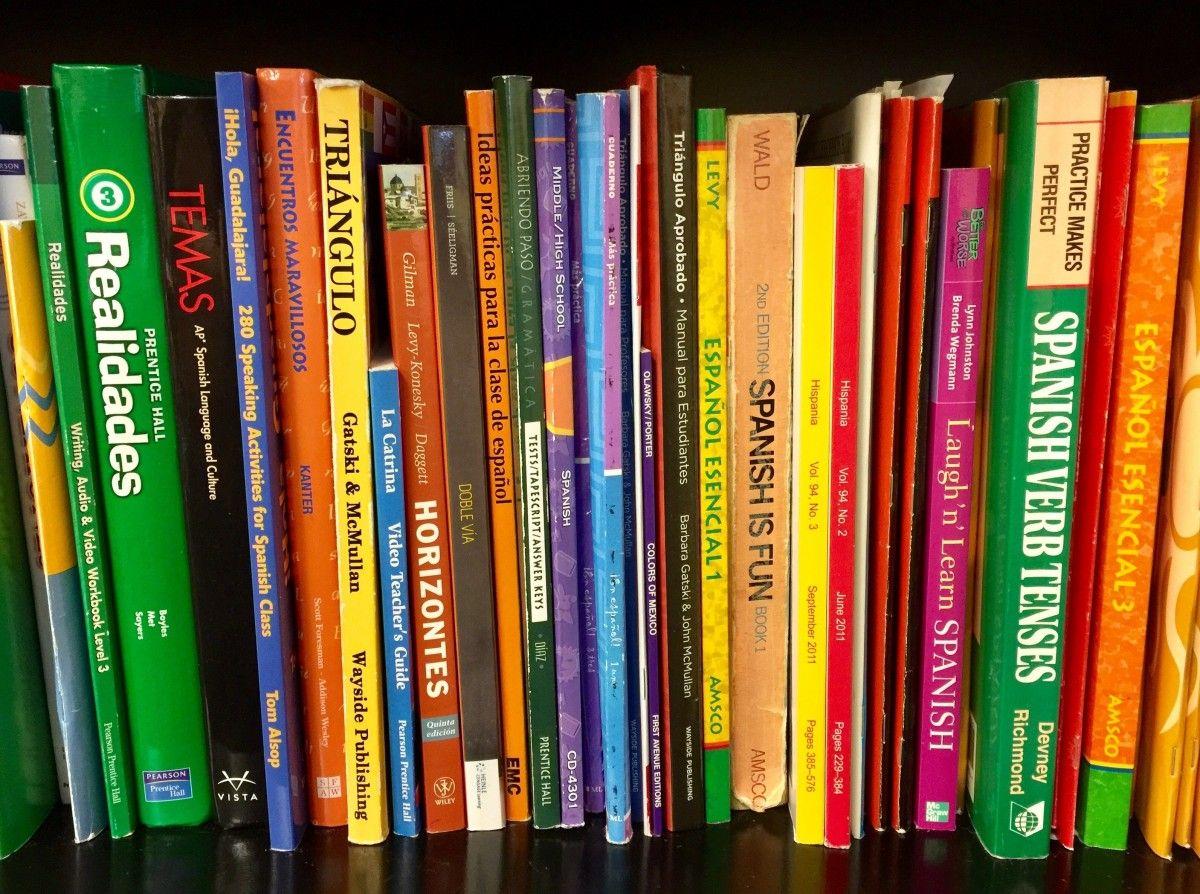 Los libros de texto de segunda mano, los grandes