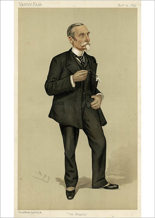 Photograph-Sir Michael A. S. Biddulph , Vanity Fair, Spy-7