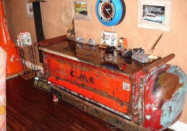 Chevy desk.
