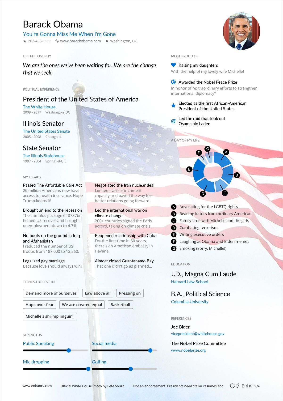 what does a president s resume look like pinterest