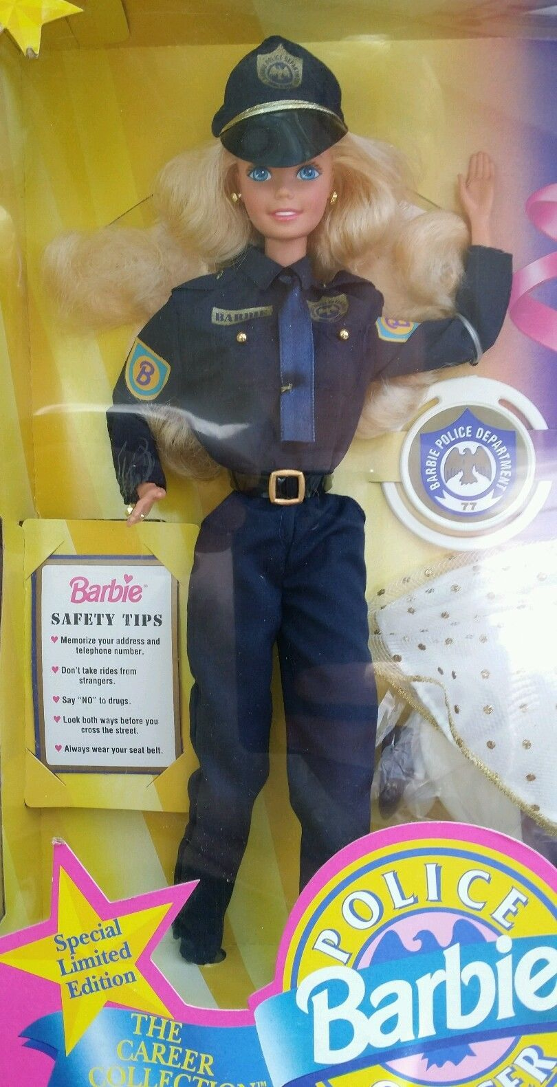 Barbie Doll Police Officer The Career Collection Special