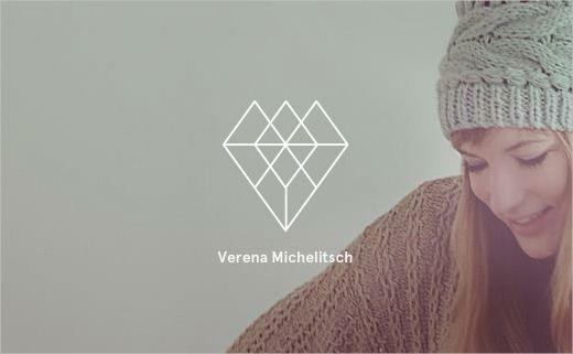 Tobias van schneider verena michelitsch branding identity logo stockholm based designer tobias van schneider helped his fellow designer verena michelitsch to create her own logo as well as sharing an intrinsic passion colourmoves