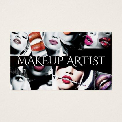 Professional makeup artist business card makeup artists professional makeup artist business card makeup artist gifts style stylish unique custom stylist colourmoves