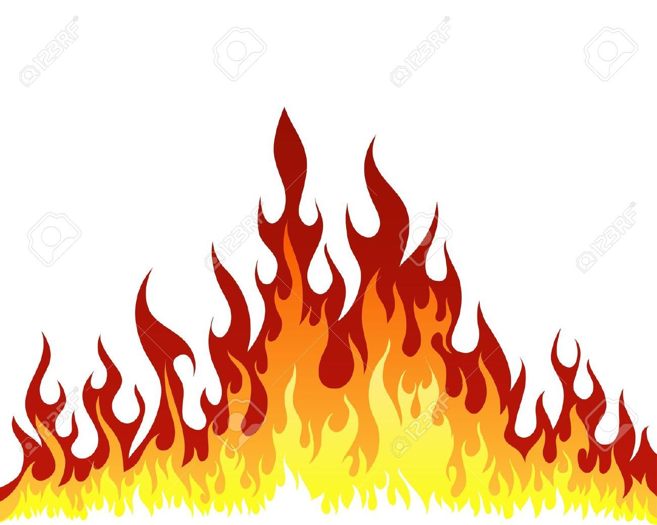 Flames white background border flame border w pictures to pin on - Fire Flames Designs Fire Flame Designs B