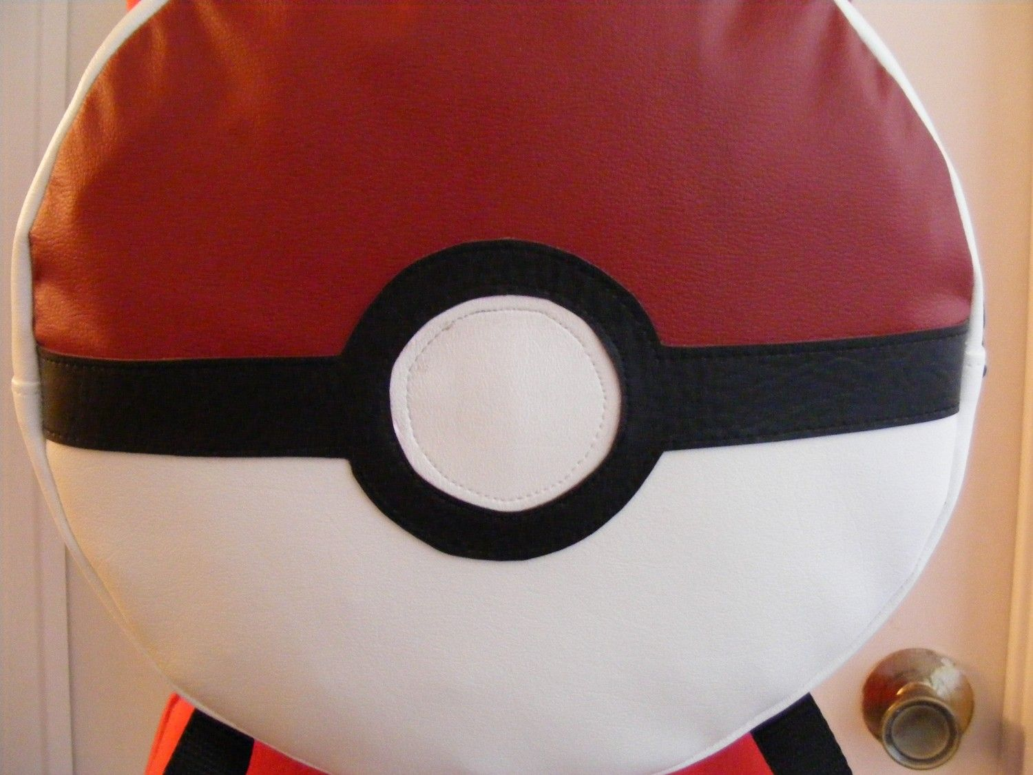 PokeBall Backpack. $50.00, via Etsy.