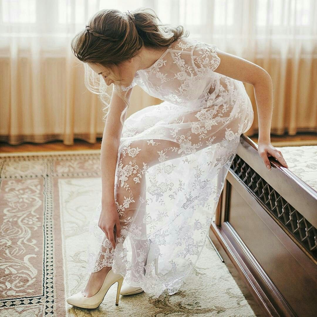 My bride. Wedding hairstyle. Ponytail | Wedding hairstyles | Pinterest