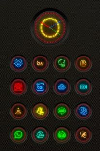 Neon Multi-Launcher Icon Pack APK for Blackberry | Download Android
