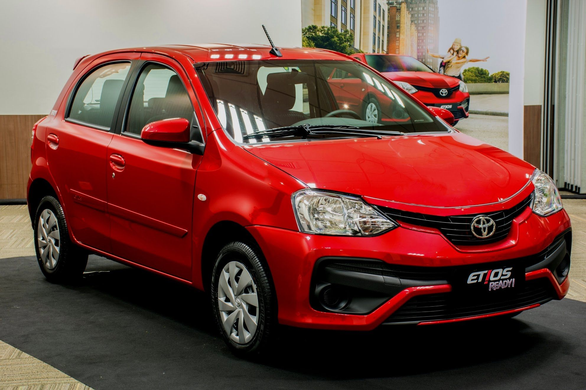 2017 toyota etios ready edition the etios ready integrates the facelift that was previously exclusive to the etios platinum featuring new v shaped grille
