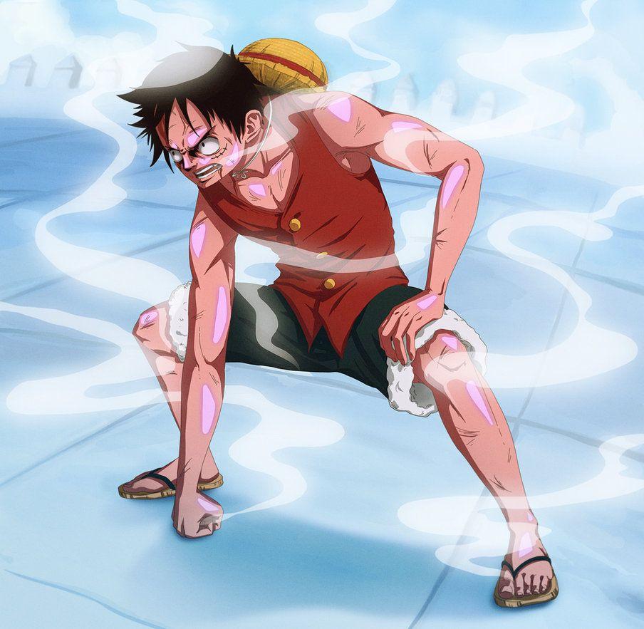 Luffy's Accidental Handjob