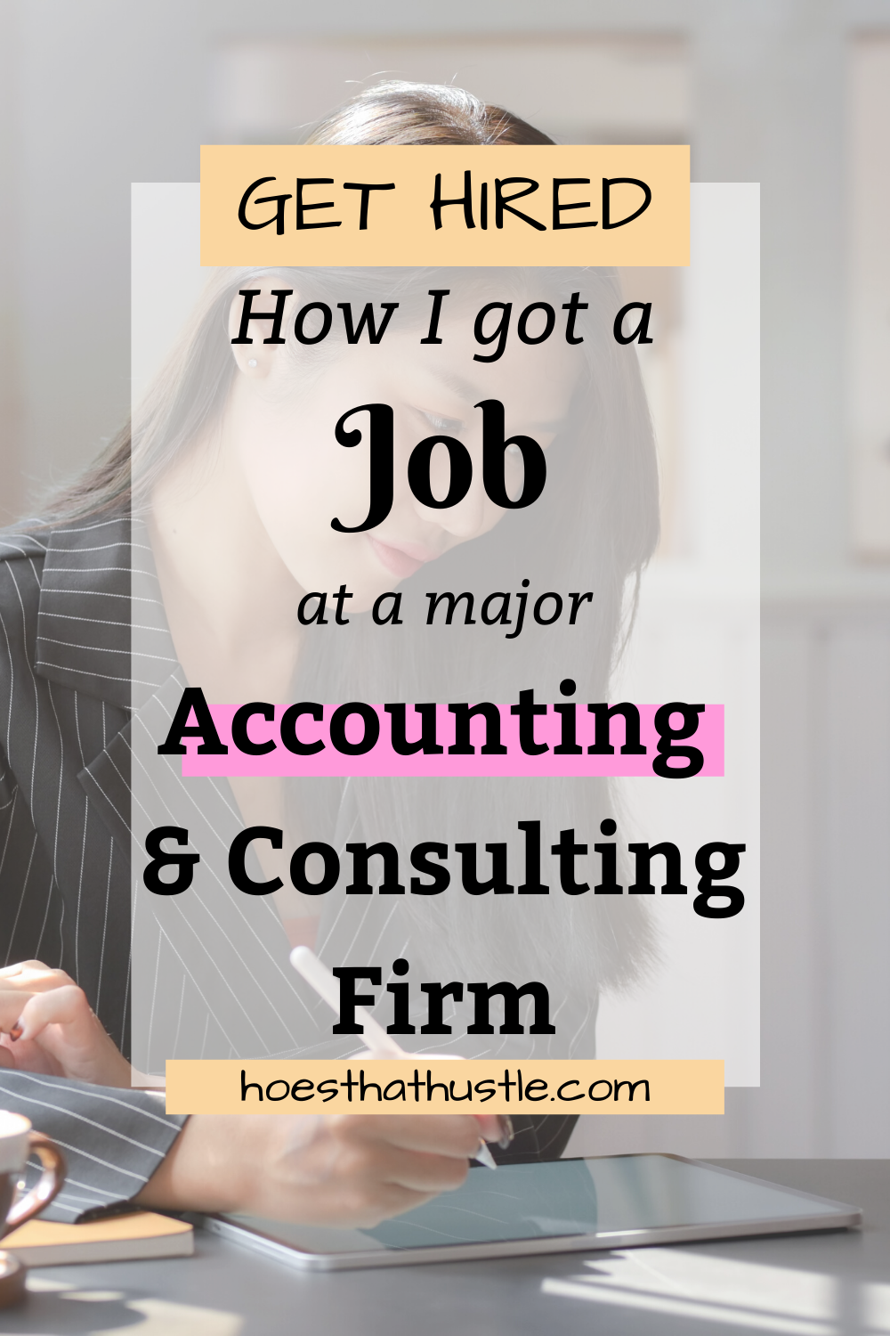 How To Get A Job In An Accounting Firm
