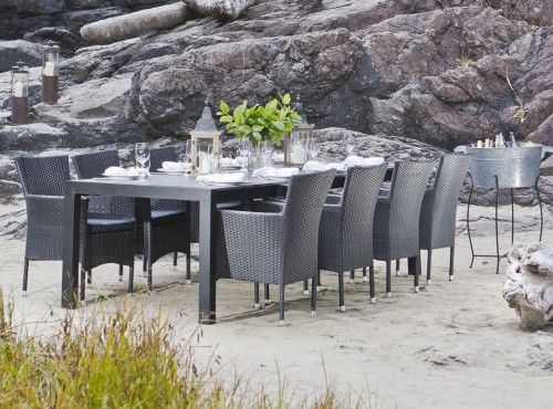 Livorno New York Extendable Table 8 Kenzo Chairs Patio