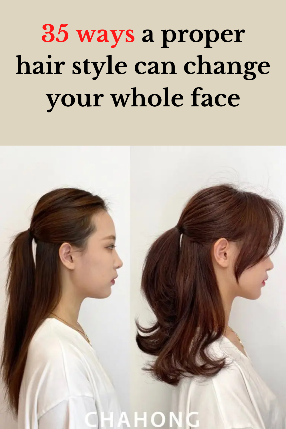 35 Ways A Proper Hair Style Can Change Your Whole Face In 2020 Hair Styles Hair Hairdo