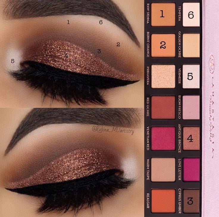 Photo of Atemberaubender Make-up-Look mit der modernen Renaissance-Palette von Anastasia Beverly Hills