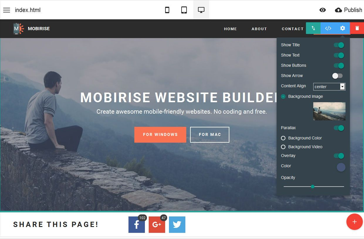Mobirise Bootstrap Builder V2 10 New Tutorial What S New In The
