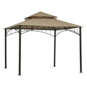 Threshold Madaga 10 X 10 Replacement Gazebo Canopy Olive Gazebo Canopy Patio Canopy Gazebo Replacement Canopy