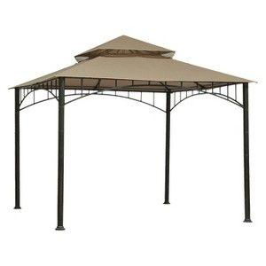 Threshold Madaga 10 X 10 Replacement Gazebo Canopy Olive Patio Canopy Gazebo Canopy Gazebo Replacement Canopy