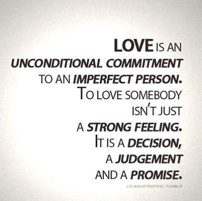 love being a choice   Love is more a choice than a feeling