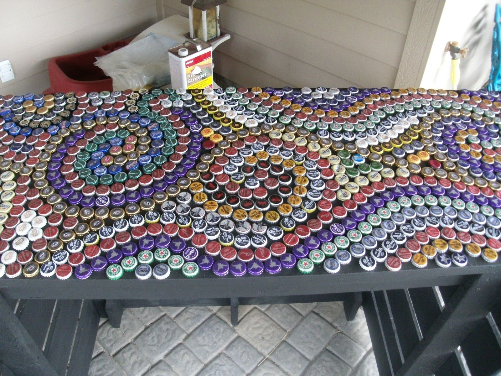 Bottle Cap Wall Art beer bottle cap art crafts | postedmallorydanielsen at 2:49 pm