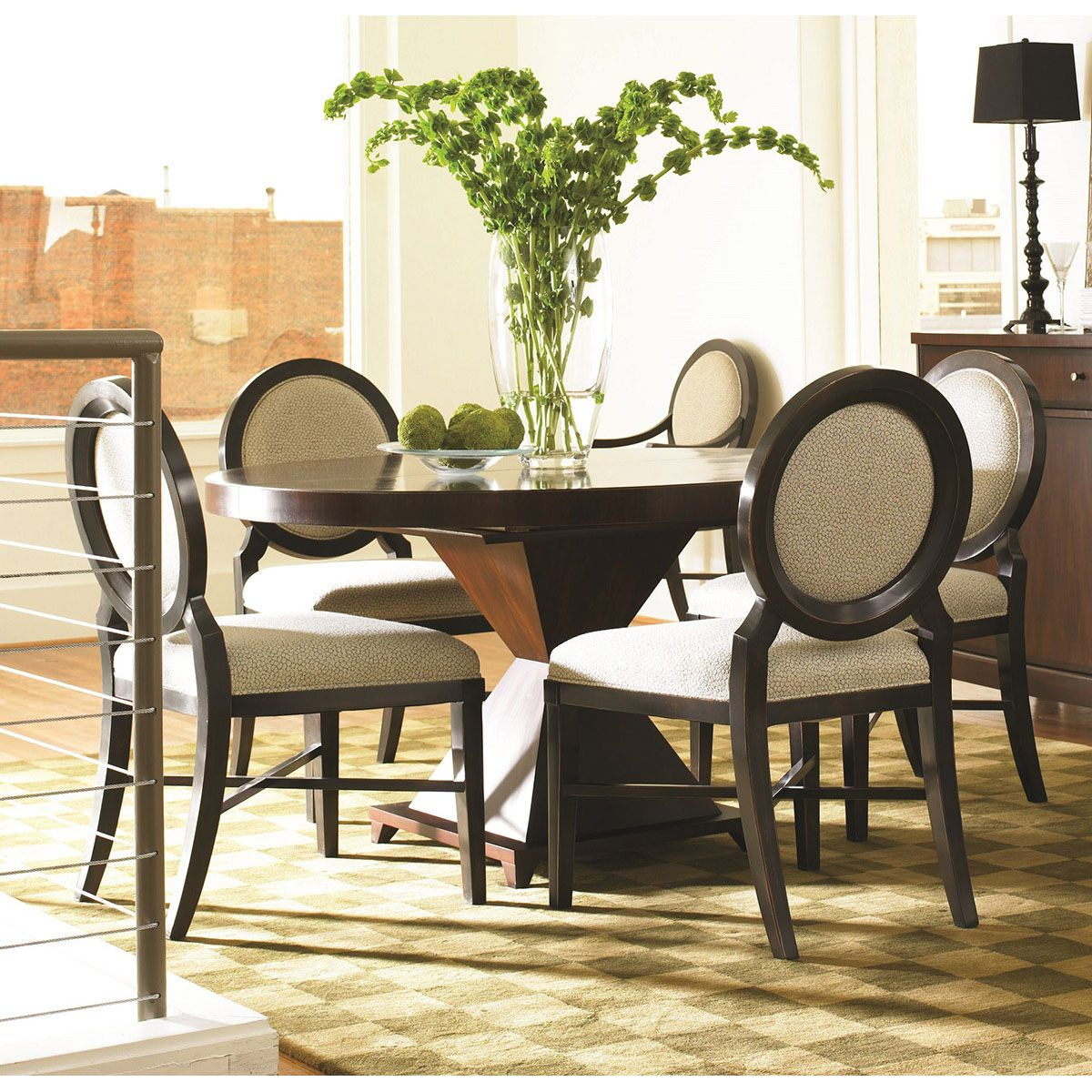 Hickory White Round Dining Table 47010  Hickory White Amazing Cheap Dining Room Table And Chair Sets Design Inspiration