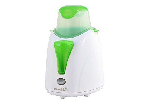 Munchkin High Speed Bottle Warmer, Orange/White, 1 Count : Baby Bottle Warmers : Baby