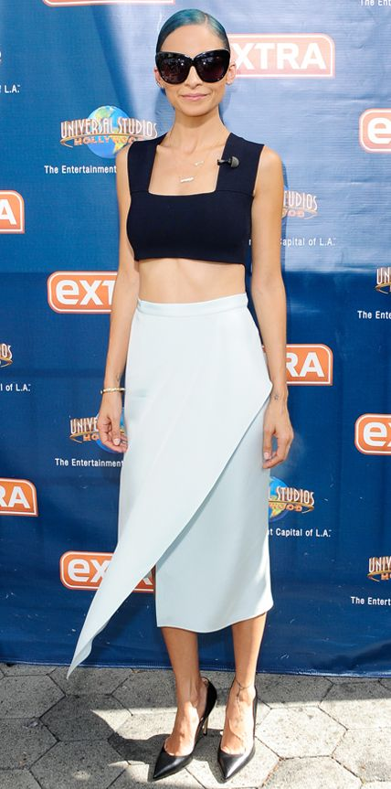 Look of the Day - October 11, 2014 - Nicole Richie in A.L.C. from #InStyle