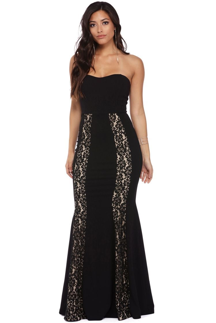 FINAL SALE - Tiegan Black Sweetheart Lace Dress   Lace dress, Spring ...