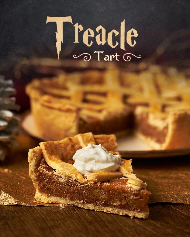 Bake A Treacle Tart And Feast Like Witch Or Wizard