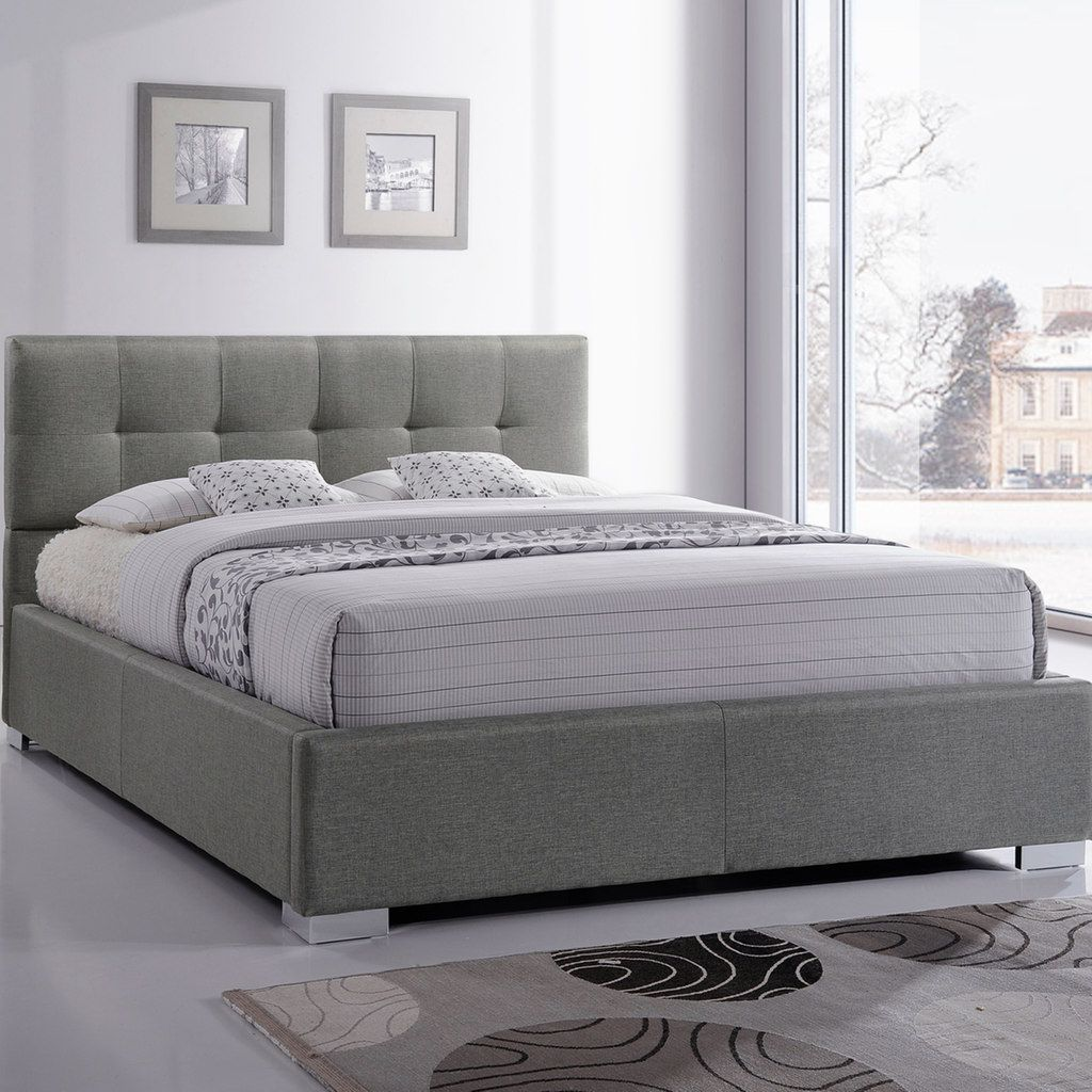 b2f8f0aff8a6 Baxton Studio Regata Tufted Upholstered Bed in 2019 | Products ...