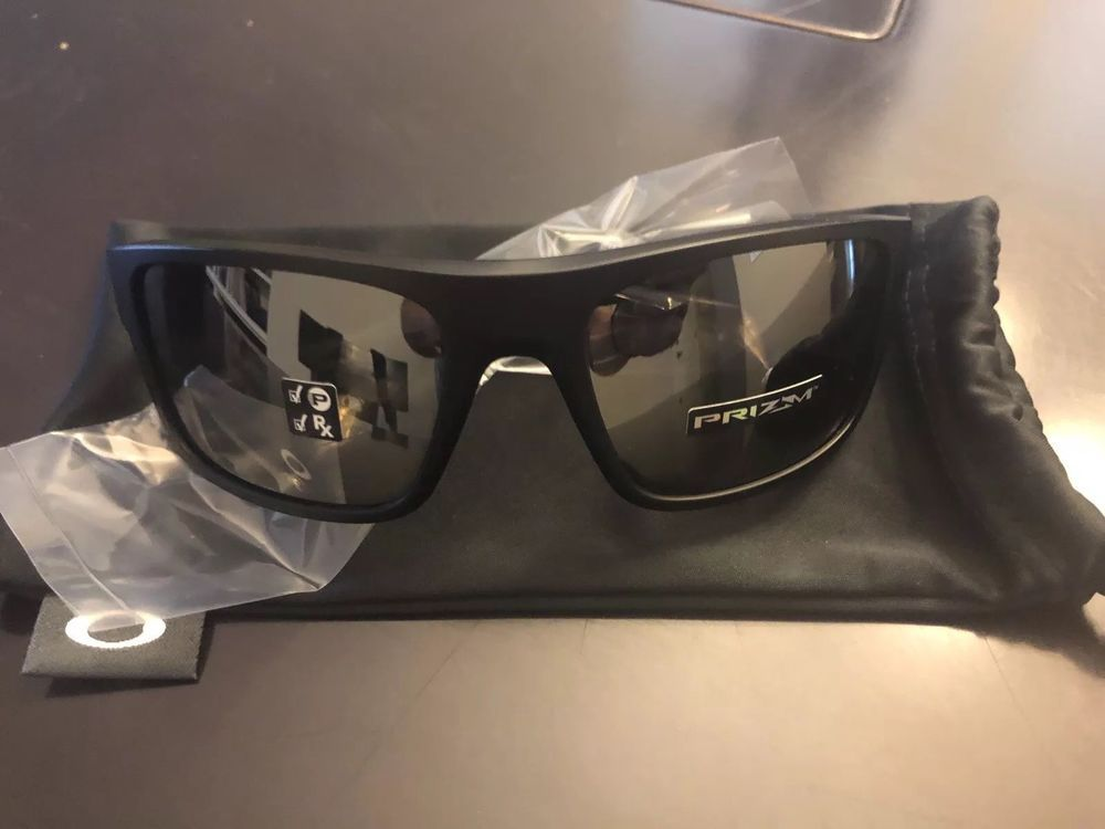 e32a6b5a1e0 NEW Oakley Drop Point Sunglass OO9367-0860 Matte Black w  Prizm Polarized  Lens  fashion  clothing  shoes  accessories  mensaccessories ...