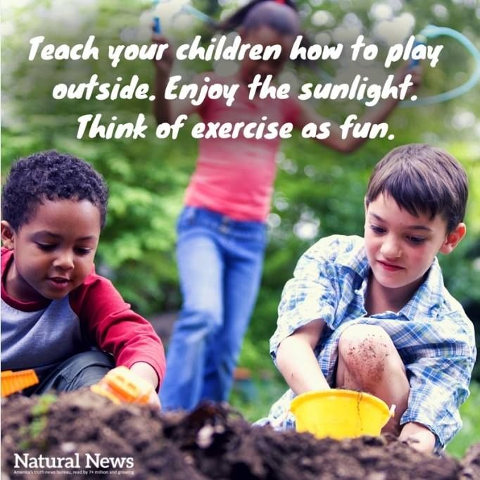 What's some fun ways you motivate your children to live out healthy lives? http://www.naturalnews.com