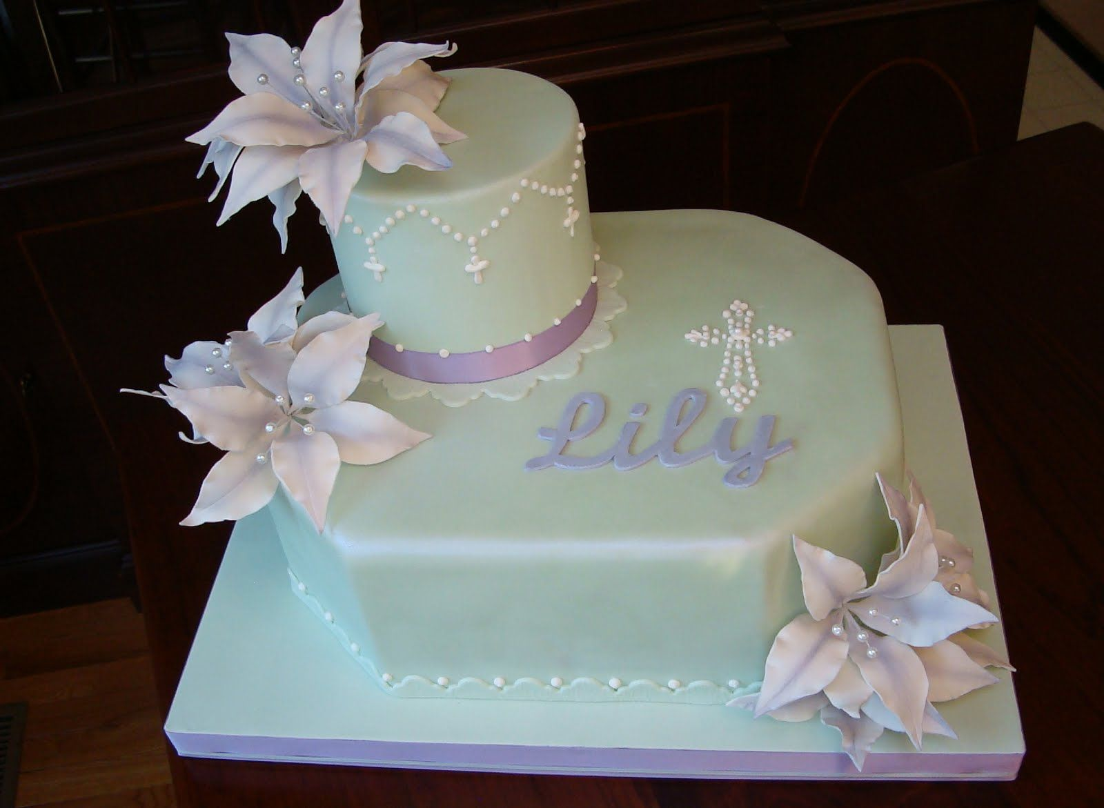 Holy communion cakes designs results for first holy communion cake ideas anna 39 s holy - Holy communion cake decorations ...