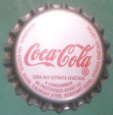 RARE TAHITI COCA COLA FRENCH POLINESIA crown bottle cap chapas kronkorken