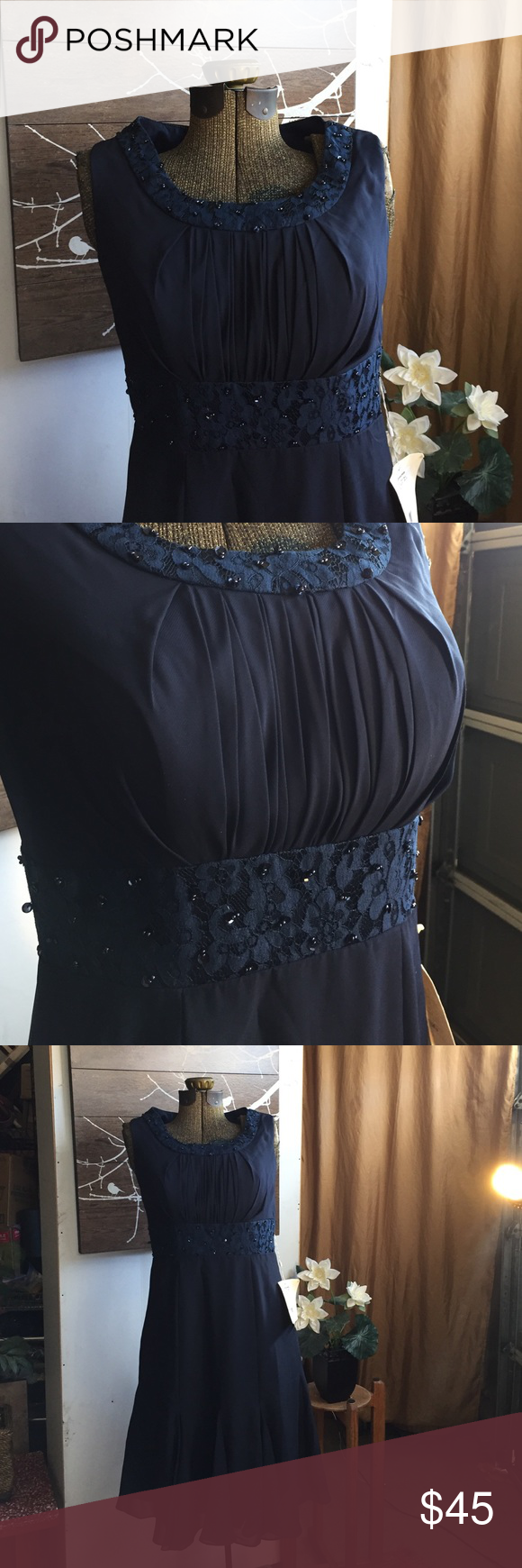 New with tags boutique navy blue and navy