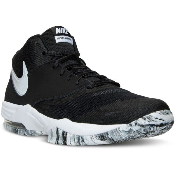 hot sale online 71ced f809f Nike Men s Air Max Emergent Basketball Sneakers from Finish Line ( 80) ❤  liked on