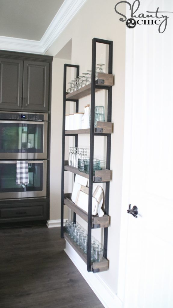 DIY Floating Plate Rack and How-To Video - Shanty 2 Chic