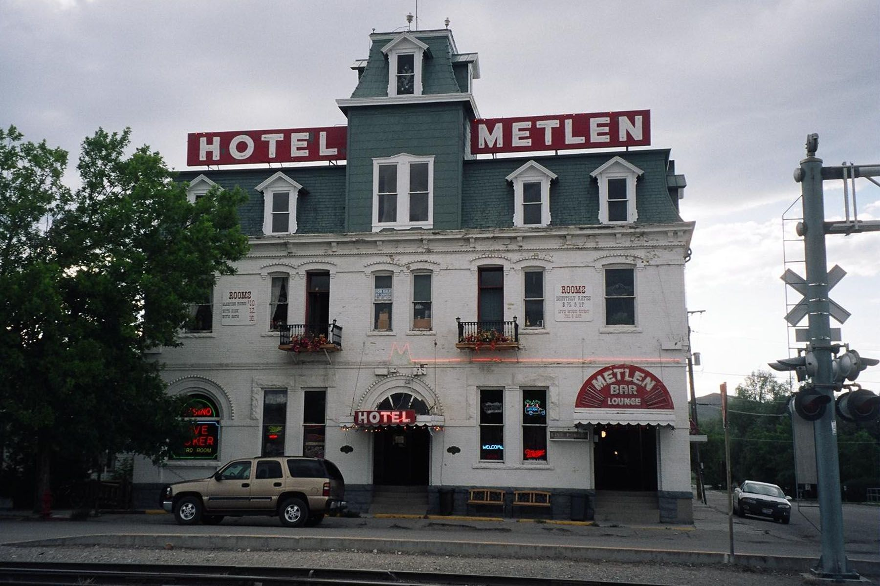 Hotel Metlen Dillon Montana I Used To Bar Tend Here Lol
