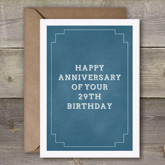 birthday card a6 fun lettering self printing 30 birthday and birthdays