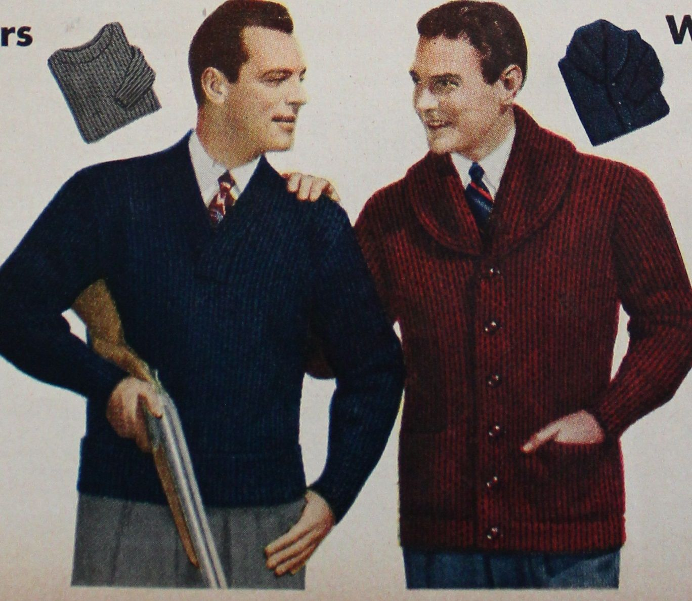 1940s Men's Fashion Clothing Styles   Mens fashion ...