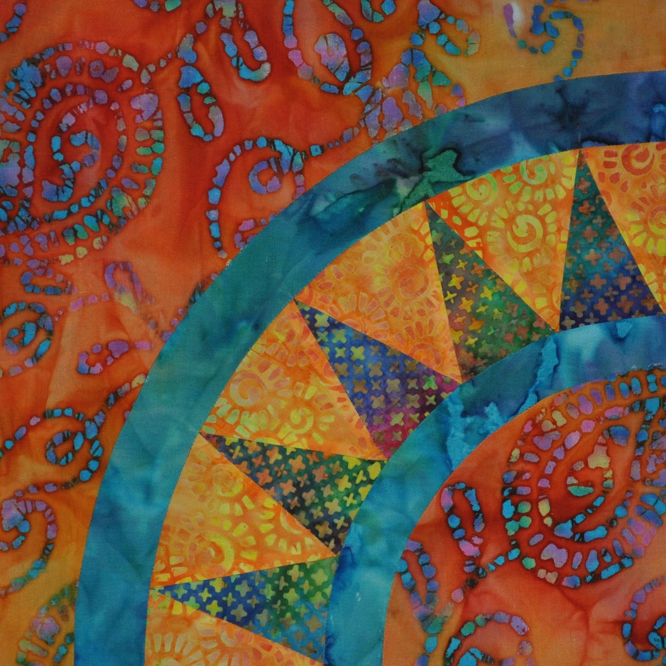 New York Beauty Quilt Paper Piece Template | the Blue Cat ... : quilt new york - Adamdwight.com